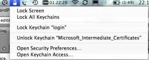 keychain-lock