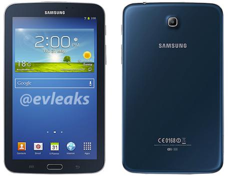 Blue Galaxy Tab 3 - 7.0