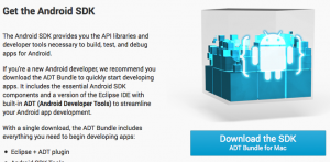 Android SDK ADT Bundle for Mac